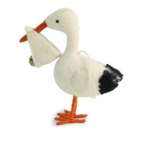 Large Stork Ornament (MIN 4)