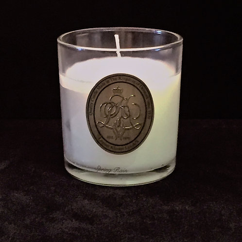 White Spring Rain Scented Jar Candle