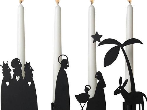 Nativity Set Candleholder