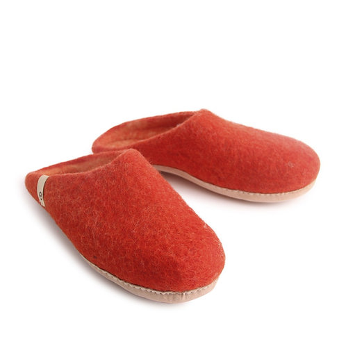 Rusty Red Slippers