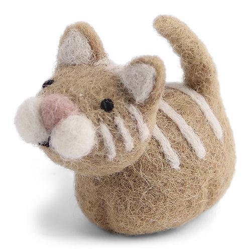 Light Brown Cat Ornament (MIN 8)