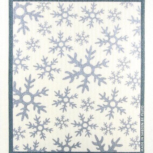 Snowflakes Wash Towel (MIN 6)
