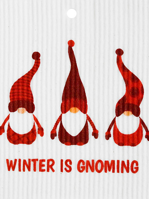 Winter is Gnoming Wash Towel (MIN 6)
