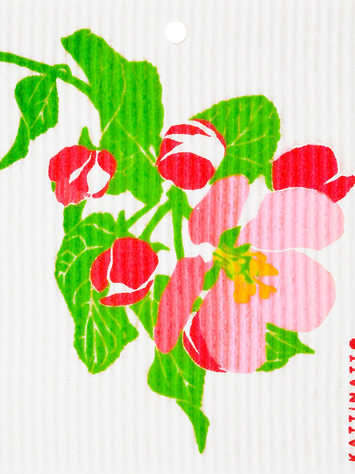 Apple Blossom Wash Towel (MIN 6)