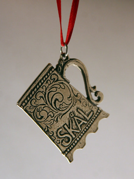 """Skal"" Tankard Ornament"