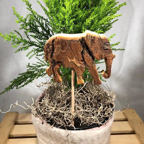 Elephant Plant Decoration
