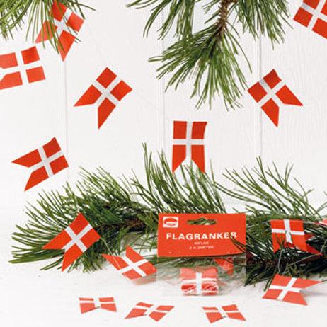 Danish Flag Garland w/20 Flags, 2/bag