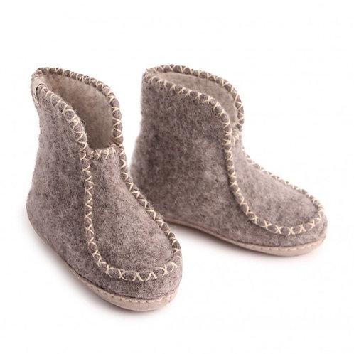 Natural Grey Kids Boots