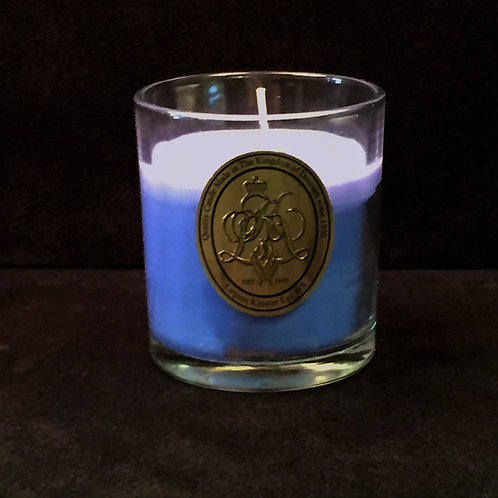 Blue Blueberry Scented Jar Candle