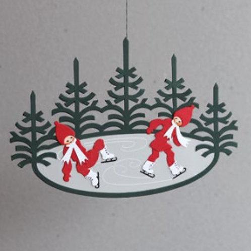 Ice Skating Nisse Mobile