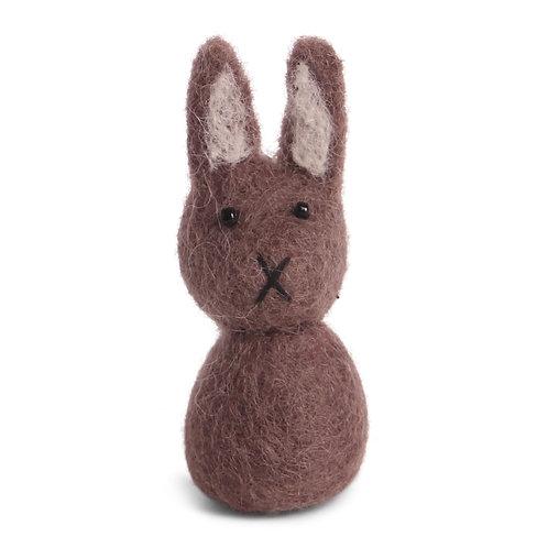 Small Purple Bunny Ornament (MIN 8)