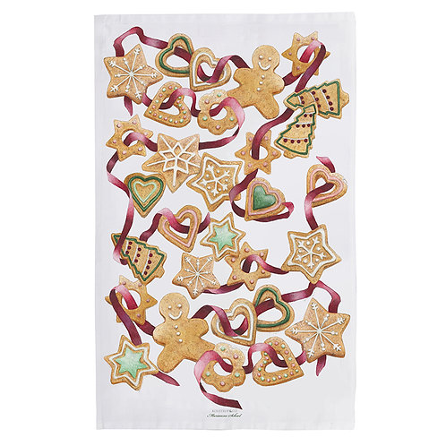 Gingerbread Man Tea Towel
