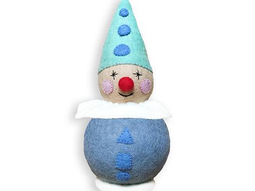 Small Blue Clown