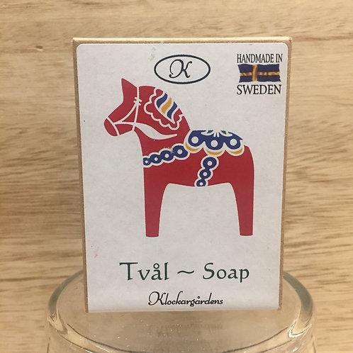 Red Dala Horse Boxed Soap