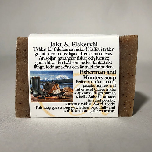 Fisherman and Hunters Natural Soap Collection