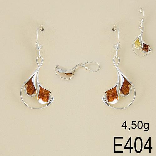 Calla Lily Earrings on Loop Back