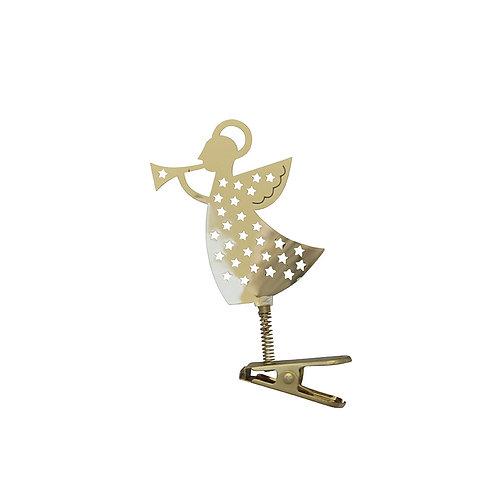 Trumpet Angel Ornament Clip