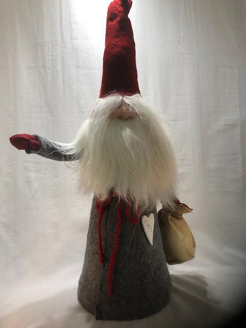 Red & Grey XXL Garden Gnome