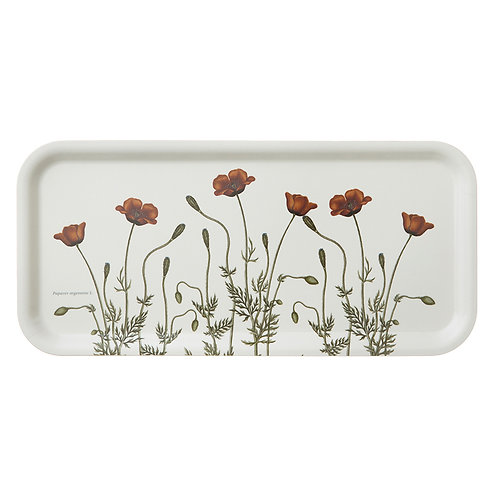 Poppies Rectanular Serving Tray