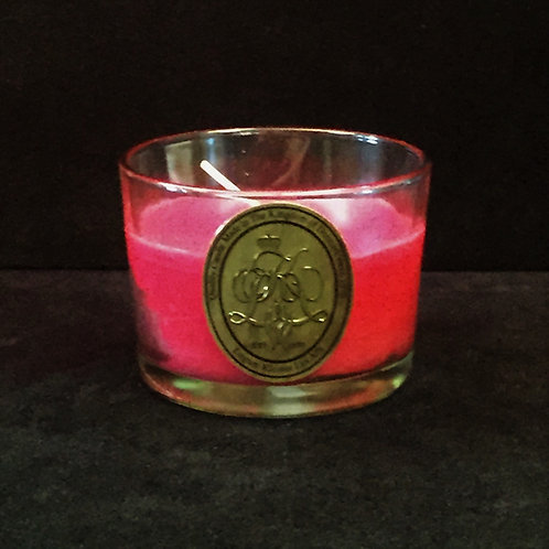 Red Cinnamon Scented Jar Candle