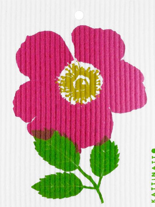 Single Wild Rose Wash Towel (MIN 6)