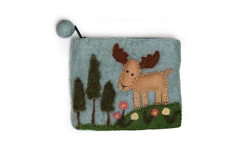 Reindeer w/Trees Purse