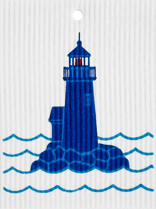 Lighthouse by Harry W. Smith Wash Towel (MIN 6)