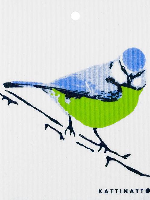 Blue Bird Wash Towel (MIN 6)