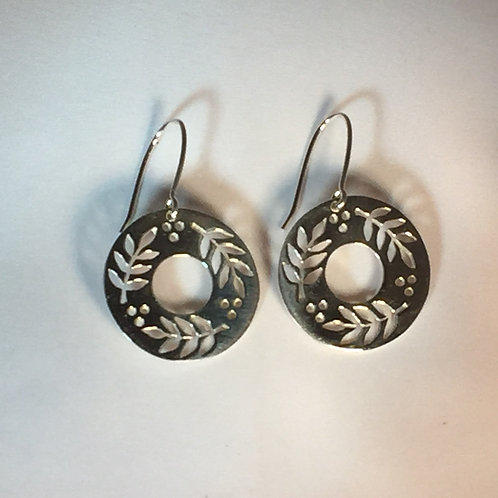 Large Mountain Ash Earrings