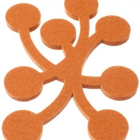 Small Orange Marja Trivet