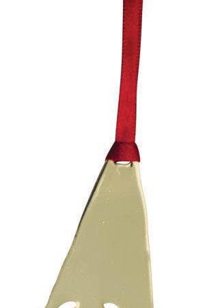 Gold Gnome Ornament