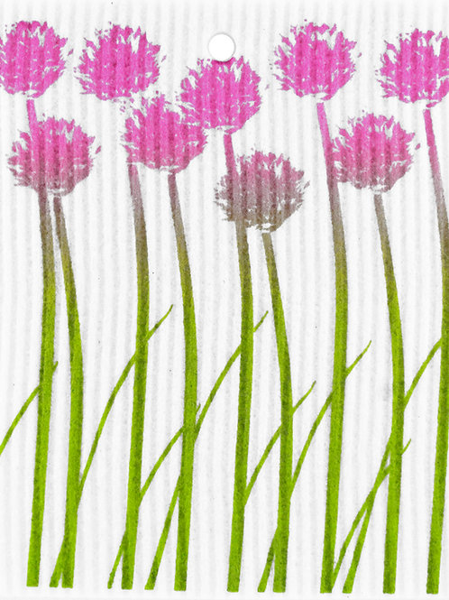 Chives Wash Towel (MIN 6)