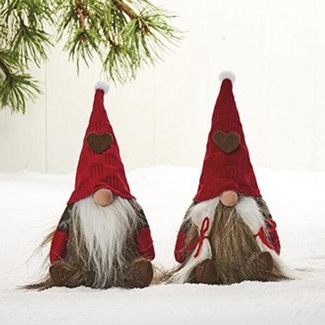 Medium Gnome w/Bendable Hat, 2 Assorted
