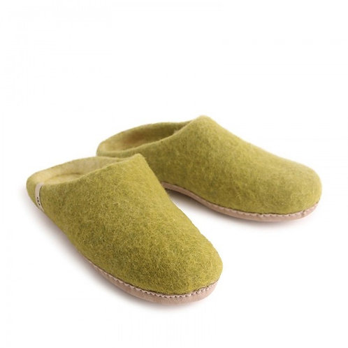 Lime Green Slippers