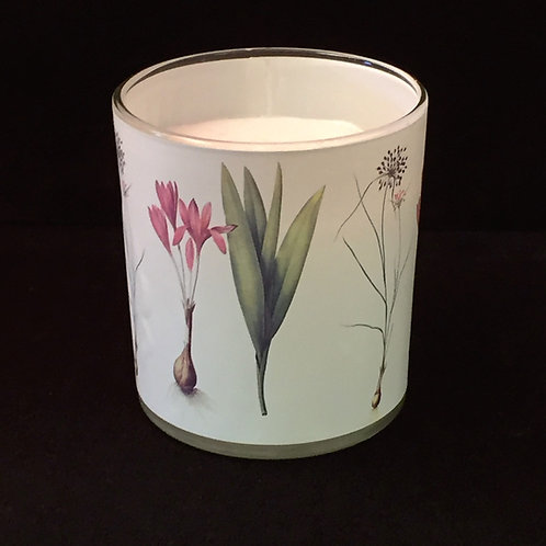 Flora Danica Candle in Glass Cup