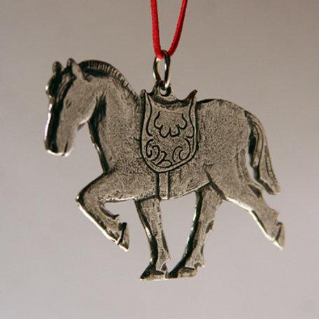 Fjord Horse Ornament
