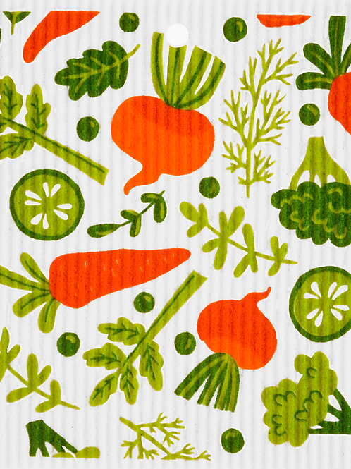 Vegetables Wash Towel (MIN 6)
