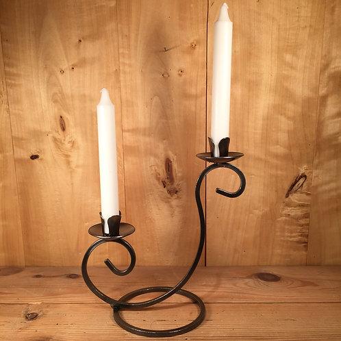 Curls Taper Candleholder