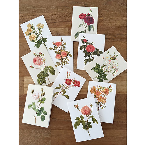Rose Collection Mini Cards