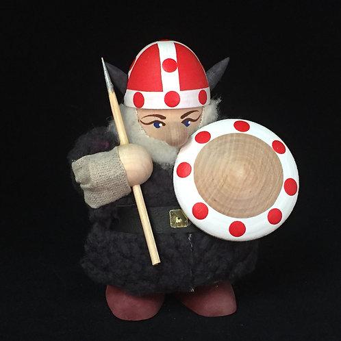 Large Viking w/Fur Cloak & Denmark Helmet