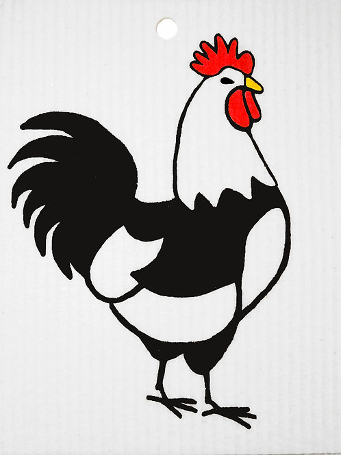 Rooster Wash Towel (MIN 6)