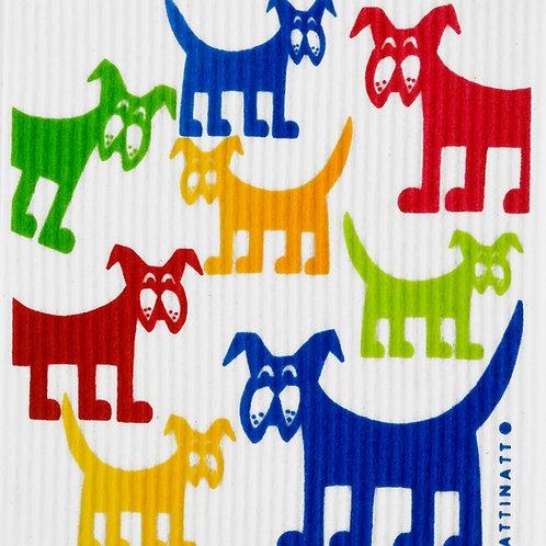 Large Multicolor Dogs Wash Towel (MIN 6)
