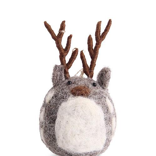 Grey Deer Ornament (MIN 8)