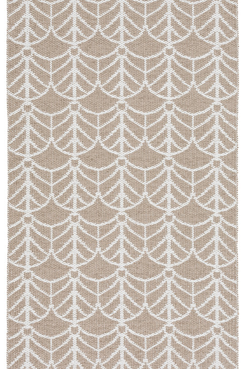 Small Beige Deco Rug