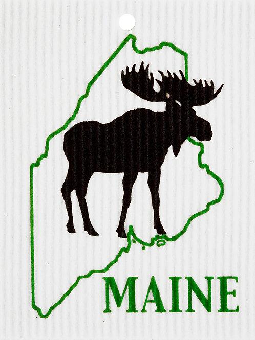 Maine Moose by Harry W. Smith Wash Towel (MIN 6)