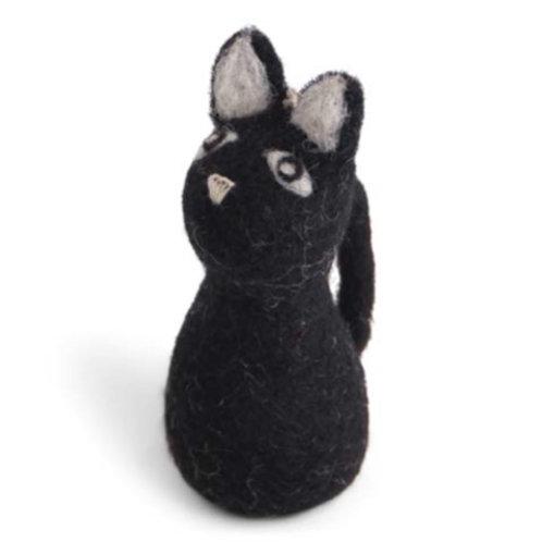 Large Black Cat Ornament (MIN 8)