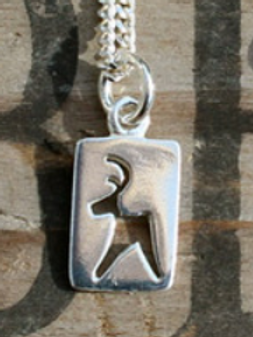 Reindeer Cut Out Necklace