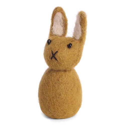 Small Ochre Bunny Ornament (MIN 8)