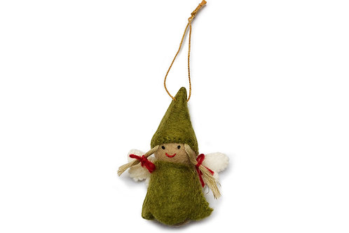 Green Fairy Ornament