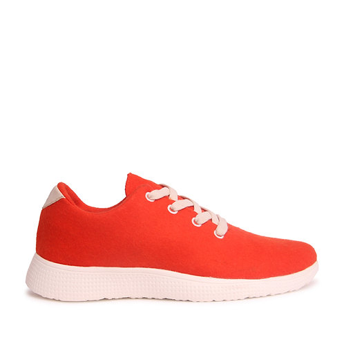 Rusty Red Sneakers